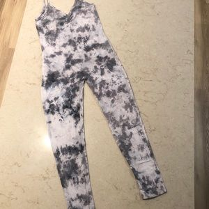 Custom Tie-Dyed Unitard